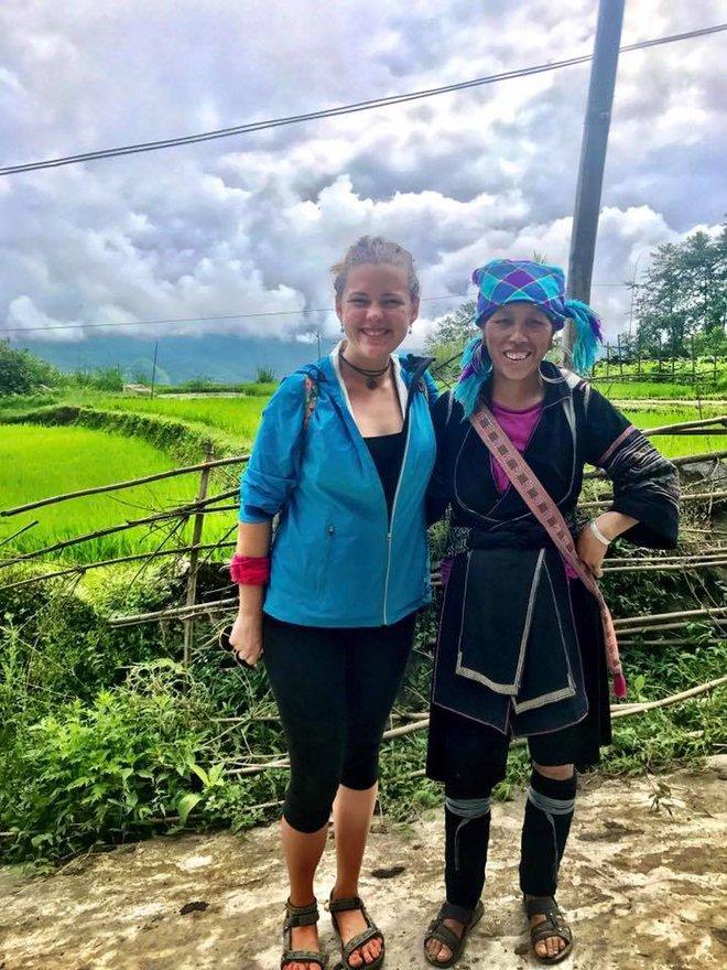 Nữ du khách nước ngoài đi xuyên Việt bị trộm mất xe đạp khi vừa đến Sài Gòn: Bật khóc vì quá sức chịu đựng - Ảnh 8.