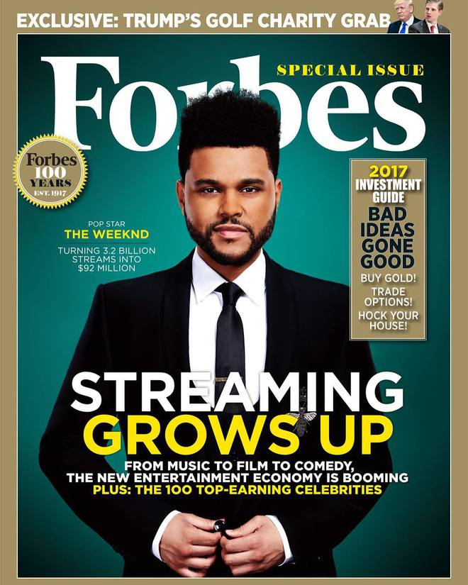 The Weeknd - Kẻ vô gia cư nghiện ngập giờ thành siêu sao thu nhập nghìn tỷ và có bạn gái đẹp! - Ảnh 1.