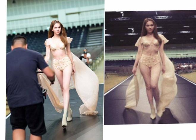 Ngọc Trinh đời thật và ảnh đã qua photoshop khác nhau như thế nào? - Ảnh 2.