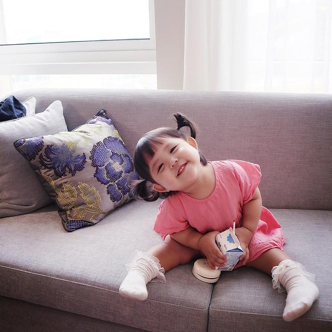 Cô nhóc Hàn Quốc dễ thương như thiên thần, ngắm ảnh chỉ muốn có con gái luôn thôi - Ảnh 5.