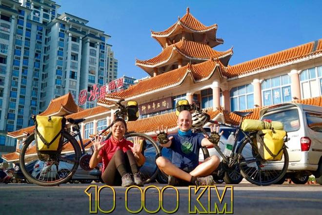 Cặp vợ chồng rong ruổi 11,000km trên xe đạp từ Hungary về Việt Nam: Hành trình trải nghiệm lòng tốt con người - Ảnh 7.