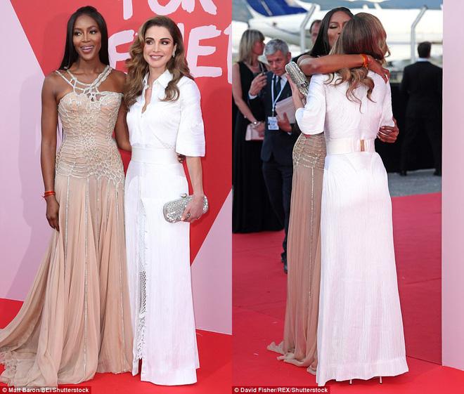 Bella mải xốc váy vì sợ lộ hàng, Kendall diện cả quần short đi thảm đỏ Cannes - Ảnh 8.