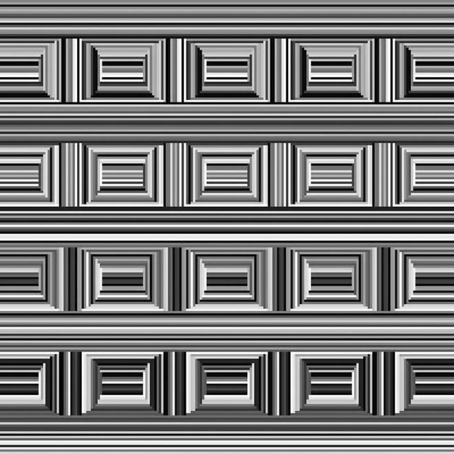 Có 16 hình tròn trong bức tranh ảo giác này nhưng mọi người đều không thể nhìn ra - Ảnh 1.