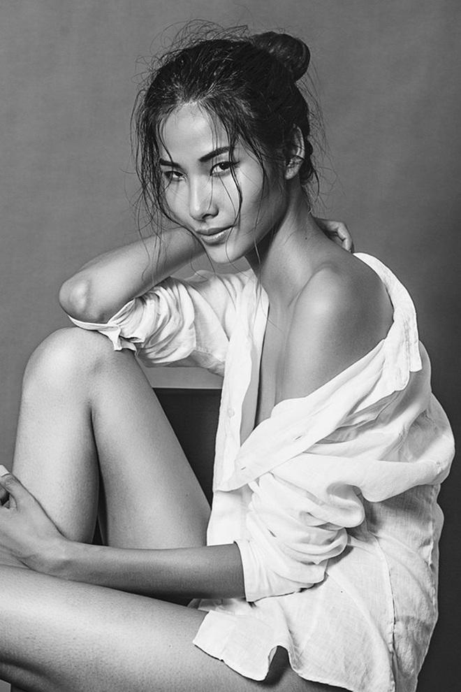 Chưa đầy 24 giờ, Hoàng Thùy vươn lên dẫn đầu bình chọn tại Hoa hậu Hoàn vũ Việt Nam - Ảnh 4.