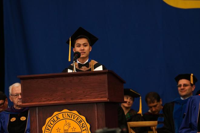 Du học sinh Việt từ bụng đói đến người duy nhất đại diện toàn trường phát biểu tại lễ tốt nghiệp - Ảnh 4.
