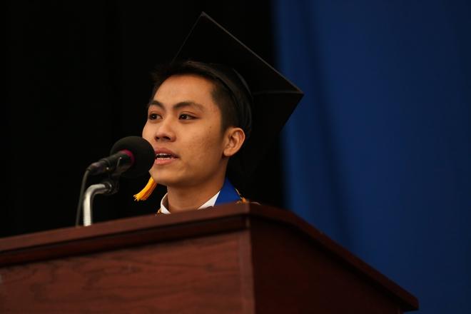 Du học sinh Việt từ bụng đói đến người duy nhất đại diện toàn trường phát biểu tại lễ tốt nghiệp - Ảnh 9.