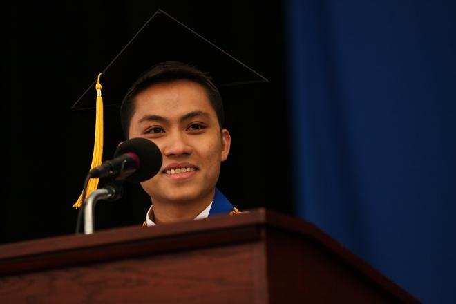 Du học sinh Việt từ bụng đói đến người duy nhất đại diện toàn trường phát biểu tại lễ tốt nghiệp - Ảnh 11.