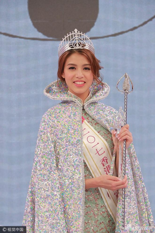 Tân Hoa hậu Hồng Kông 2017 vừa đăng quang đã bị chê bôi vì nhan sắc quá bình thường - Ảnh 1.