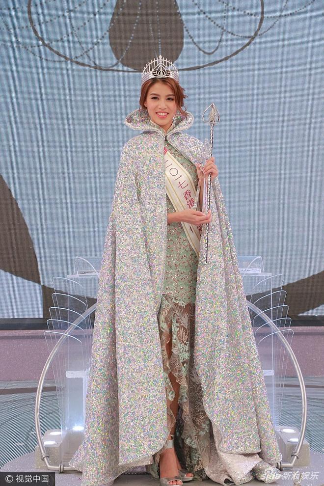 Tân Hoa hậu Hồng Kông 2017 vừa đăng quang đã bị chê bôi vì nhan sắc quá bình thường - Ảnh 2.