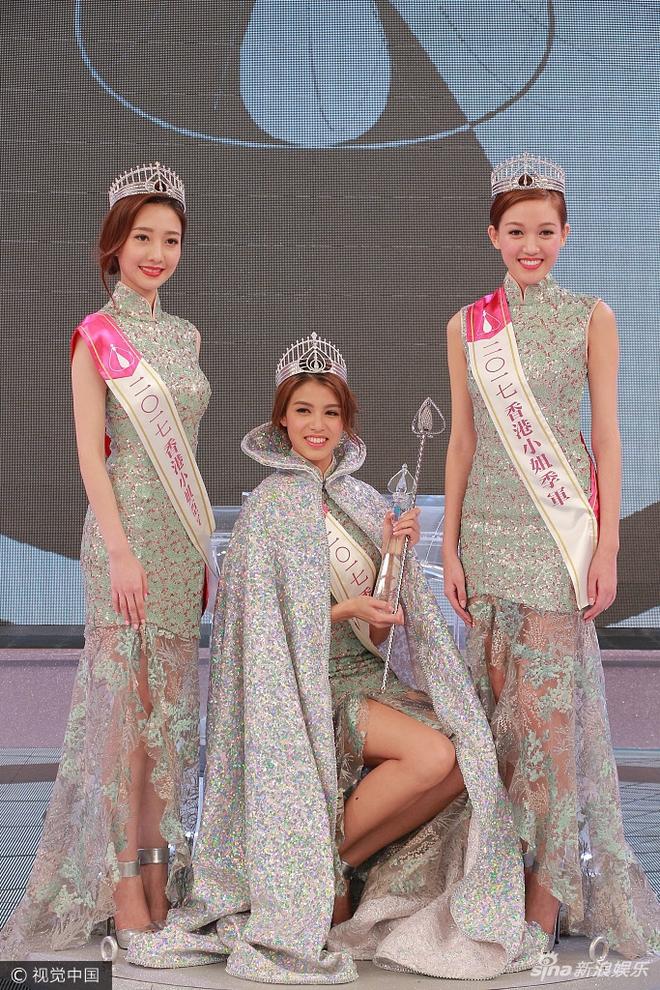 Tân Hoa hậu Hồng Kông 2017 vừa đăng quang đã bị chê bôi vì nhan sắc quá bình thường - Ảnh 3.