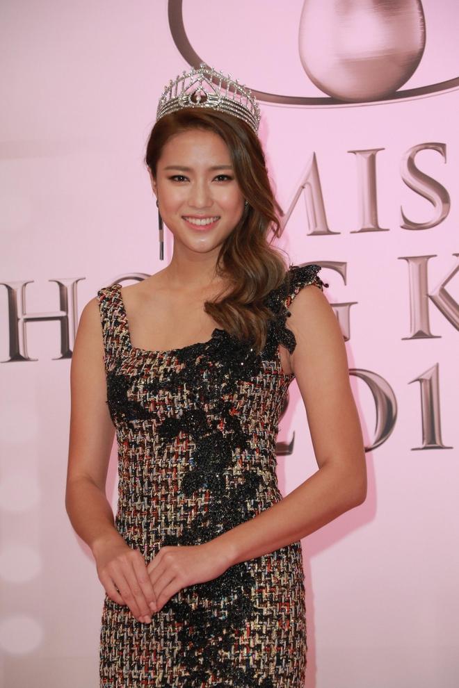 Tân Hoa hậu Hồng Kông 2017 vừa đăng quang đã bị chê bôi vì nhan sắc quá bình thường - Ảnh 6.