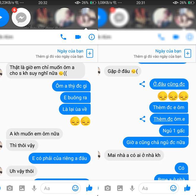 Vào Facebook bạn gái, chàng trai bàng hoàng phát hiện người yêu thả thính cùng lúc 3-4 người - Ảnh 3.