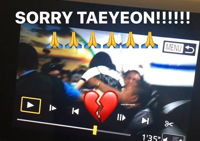 """Taeyeon viết tâm thư sau sự cố ngã quỵ: """"Tôi không thể ngừng khóc. Vòng 3 và ngực tôi bị động chạm liên tục"""" - Ảnh 2."""