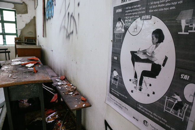 Cảnh u ám bên trong ngôi trường tiểu học 20 tỷ đồng bị bỏ hoang gần 10 năm giữa Sài Gòn - Ảnh 11.