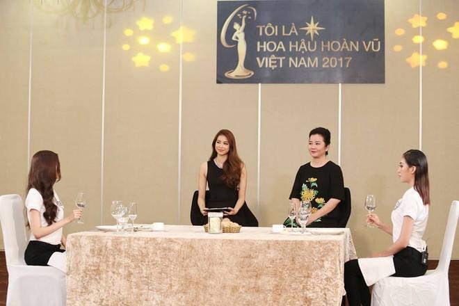 Hoàng Thùy và Mâu Thủy bị loại ngay vòng thi đầu tiên ở tập 3 Tôi là Hoa hậu Hoàn vũ VN - Ảnh 2.
