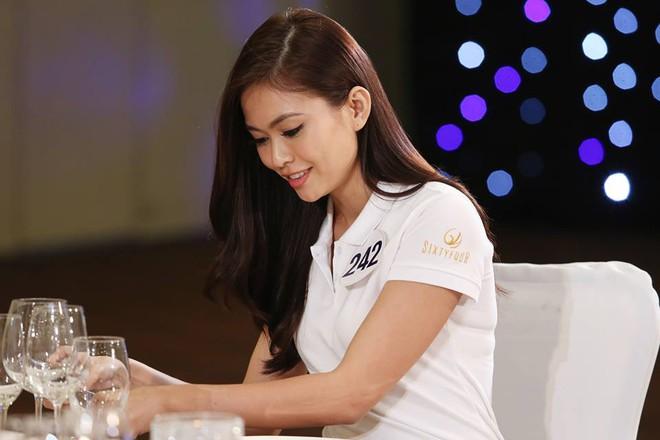 Hoàng Thùy và Mâu Thủy bị loại ngay vòng thi đầu tiên ở tập 3 Tôi là Hoa hậu Hoàn vũ VN - Ảnh 4.