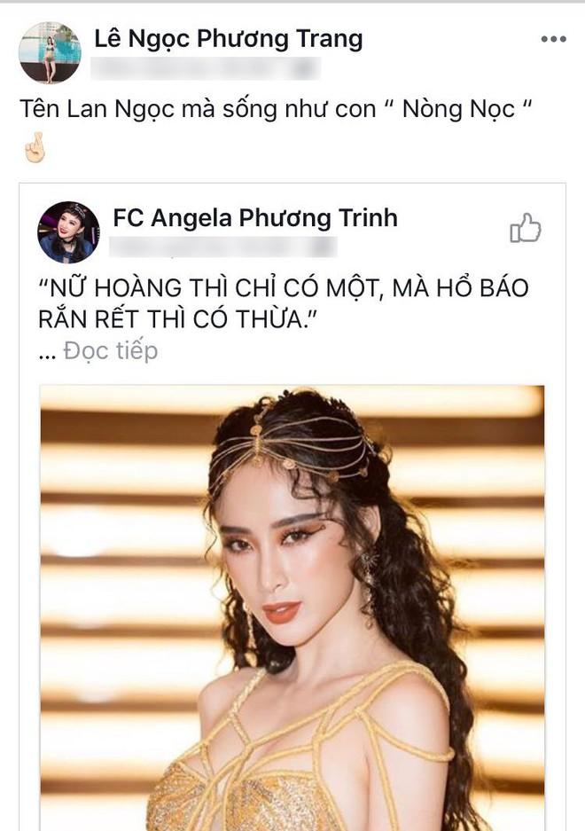 Giữa lùm xùm, em gái Angela Phương Trinh thẳng thừng mỉa mai Ninh Dương Lan Ngọc - Ảnh 2.