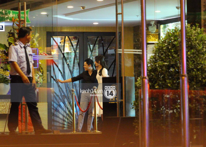 Bắt gặp Phan Thành - Primmy Trương nắm tay tình tứ sau tiệc sinh nhật - Ảnh 6.