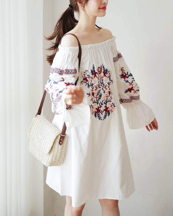 Ngoài váy hoa, hè này còn 5 kiểu váy khác cũng xinh và mát hết nấc - Ảnh 14.