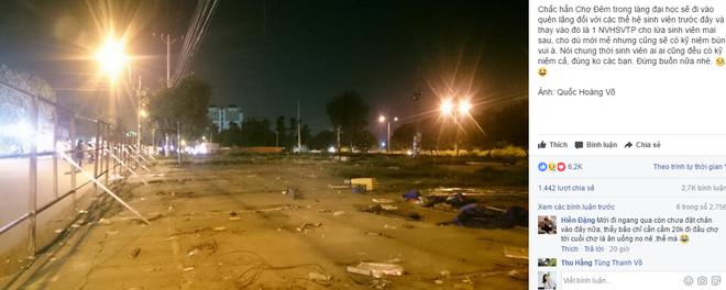 Chợ đêm làng đại học - nơi gắn bó kỷ niệm của một thế hệ sinh viên Sài Gòn sắp đóng cửa - Ảnh 1.