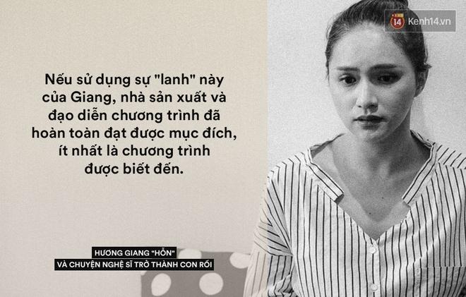 Chuyện Hương Giang hỗn, nghệ sĩ trở thành con rối và trách nhiệm từ nhà sản xuất! - Ảnh 3.