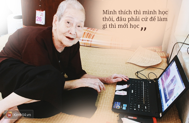 Gặp cụ bà 97 tuổi được phong