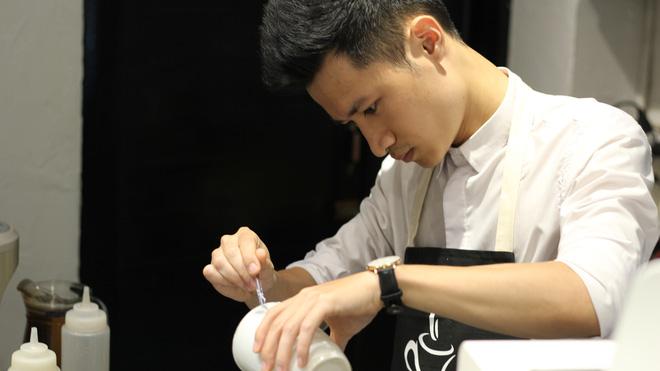 In ảnh lên trà sữa: món mới toanh đầy ảo diệu ở Hà Nội - ảnh 3