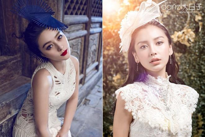 Khác biệt về phong cách nhưng Phạm Băng Băng và Angela Baby vẫn có những pha đụng hàng đầy thú vị - ảnh 9