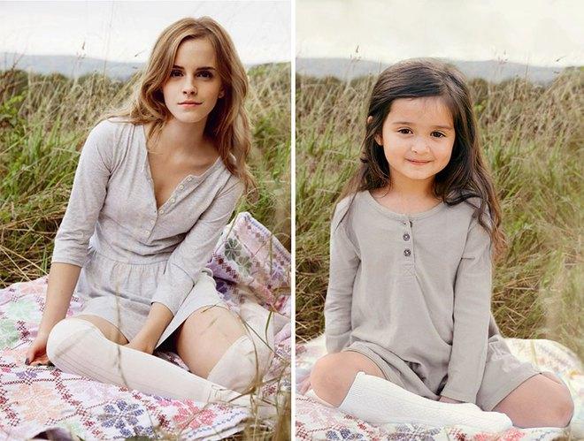 Cô bé 3 tuổi hóa trang xuất thần thành những người nổi tiếng và câu chuyện cảm động đằng sau đó - Ảnh 3.