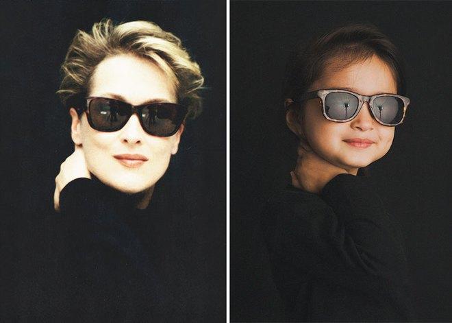 Cô bé 3 tuổi hóa trang xuất thần thành những người nổi tiếng và câu chuyện cảm động đằng sau đó - Ảnh 13.