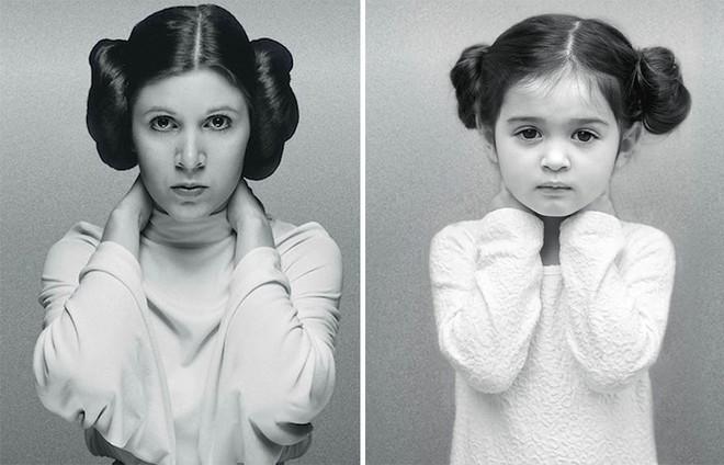 Cô bé 3 tuổi hóa trang xuất thần thành những người nổi tiếng và câu chuyện cảm động đằng sau đó - Ảnh 11.