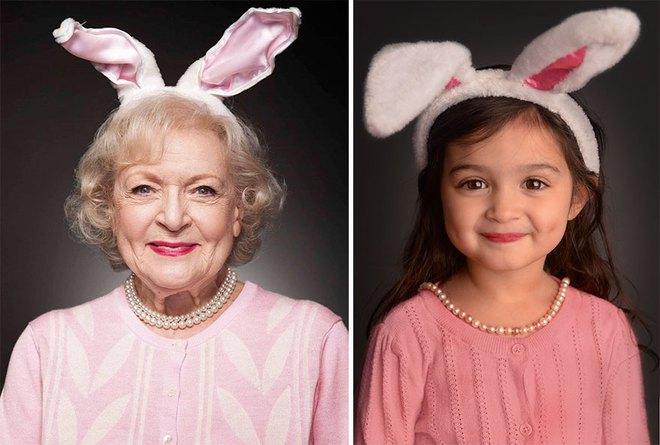Câu chuyện xúc động phía sau bé gái 3 tuổi xí xọn đóng giả từ bà ngoại đến người nổi tiếng thế giới - Ảnh 9.