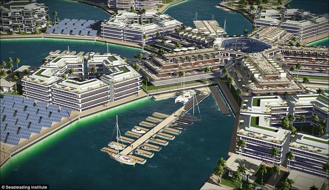 Chưa đầy 3 năm nữa, thành phố nổi đầu tiên trên thế giới sẽ xuất hiện và đó sẽ là một công trình vĩ đại - ảnh 5