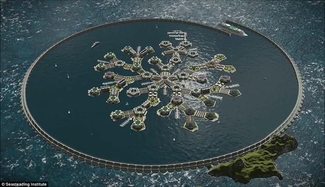 Chưa đầy 3 năm nữa, thành phố nổi đầu tiên trên thế giới sẽ xuất hiện và đó sẽ là một công trình vĩ đại - ảnh 1