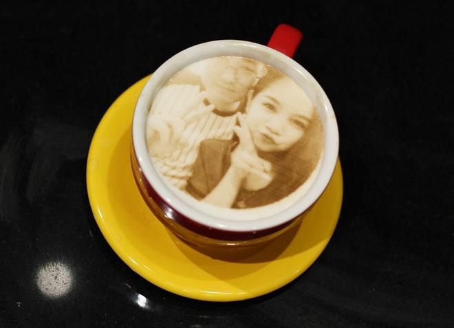 In ảnh lên trà sữa: món mới toanh đầy ảo diệu ở Hà Nội - ảnh 10