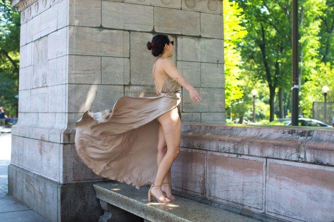 Cô nàng này đã diện thử chiếc váy lộ hàng giống Bella Hadid và đây là cái kết - Ảnh 5.