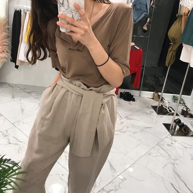 Ngay cả khi không thích quần vải, các cô nàng cũng sẽ đổ đứ đừ trước kiểu quần thắt nơ xinh xắn này - Ảnh 4.