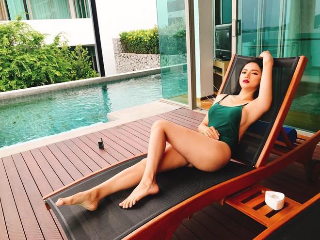 Trở lại sau scandal vạ miệng, Hương Giang Idol diện bikini nóng bỏng hết cỡ! - Ảnh 4.