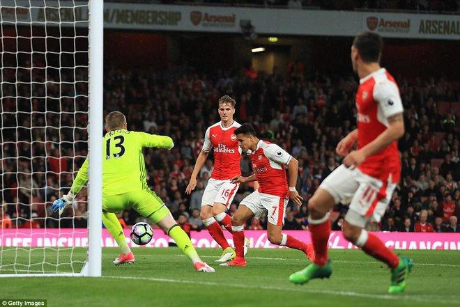Cú đúp của Sanchez giúp Arsenal nuôi hy vọng dự Champions League - Ảnh 12.