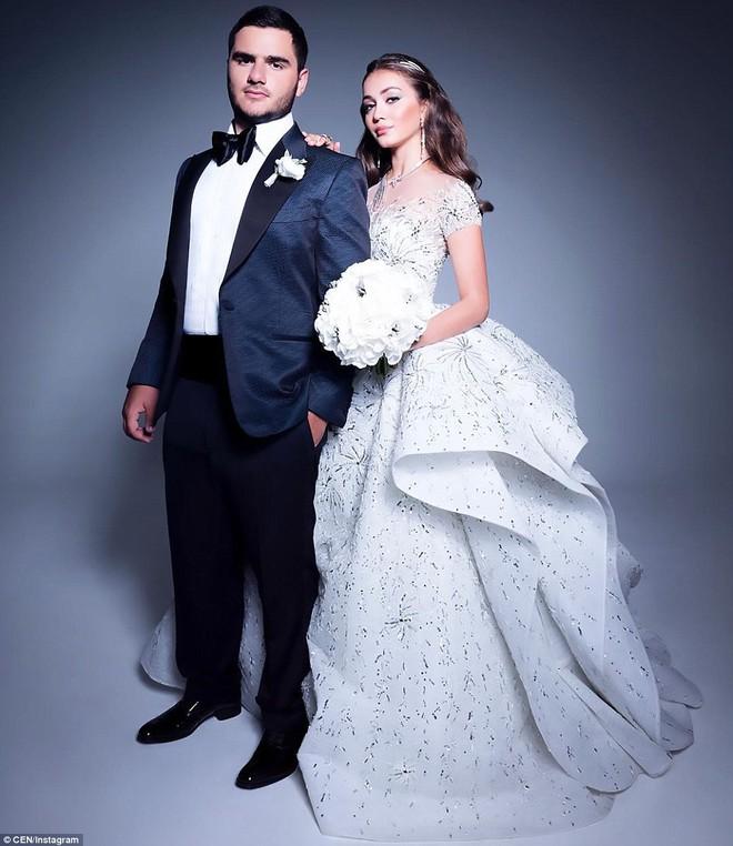 Đám cưới xa hoa của con trai ông trùm bất động sản Nga cùng cô dâu xinh đẹp như công chúa trong truyện cổ tích - ảnh 1