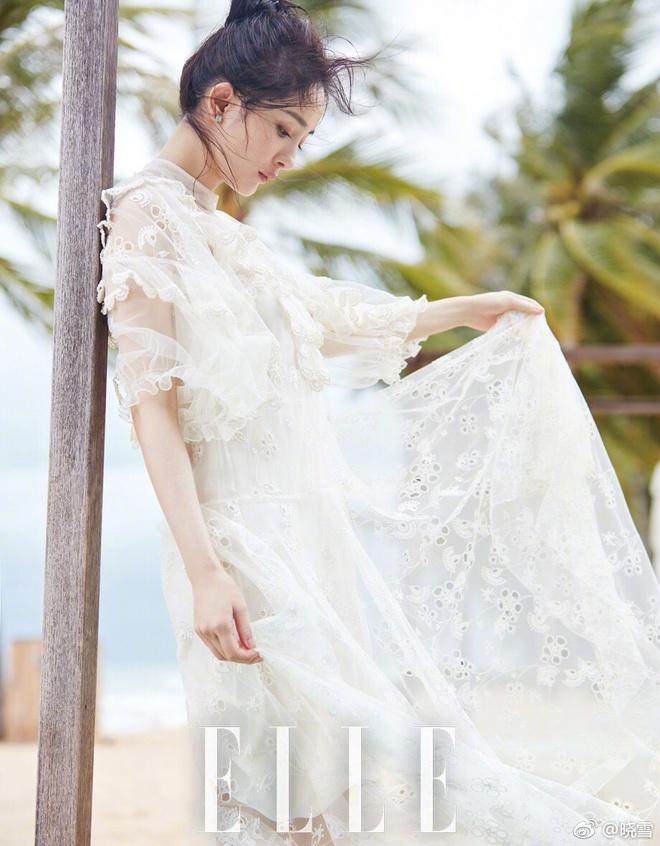 Dương Mịch khoe eo thon, lưng trần đẹp mê người trong loạt ảnh mới - Ảnh 9.