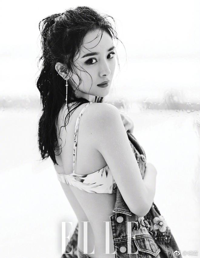 Dương Mịch khoe eo thon, lưng trần đẹp mê người trong loạt ảnh mới - Ảnh 3.