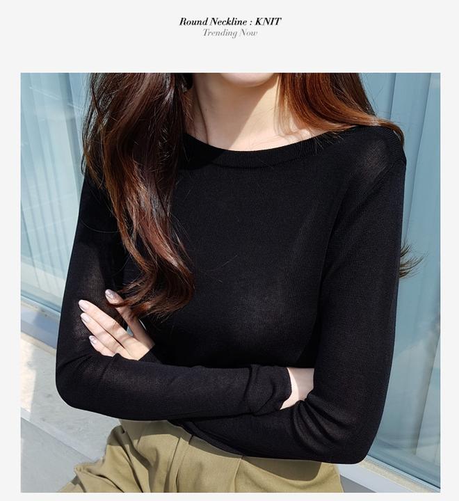 Áo dệt kim: lại thêm chiếc áo không thể thiếu của mùa thu bởi nàng nào diện vào cũng dịu dàng hơn bội phần - Ảnh 7.
