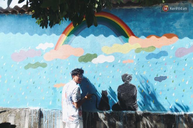 Lý Sơn đâu chỉ có biển đẹp, Lý Sơn giờ có cả một làng bích họa mới toanh cho bạn tha hồ chụp ảnh - Ảnh 5.