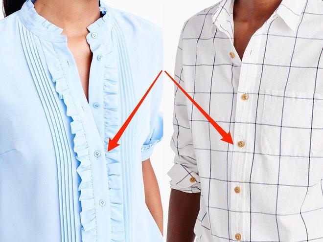 Khuy áo của nam và nữ luôn nằm ở hai hàng trái ngược nhau. Lý do là... - Ảnh 1.