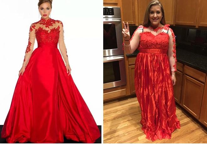 Những bộ váy prom thảm họa mua online biến công chúa thành phù thủy trong chớp mắt - Ảnh 12.