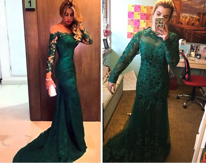 Những bộ váy prom thảm họa mua online biến công chúa thành phù thủy trong chớp mắt - Ảnh 8.