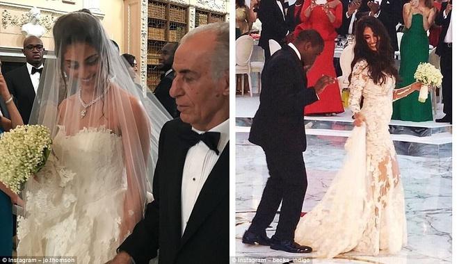 Đám cưới sang chảnh với 1 triệu bông hồng của con trai tỷ phú da màu giàu nhất thế giới - Ảnh 5