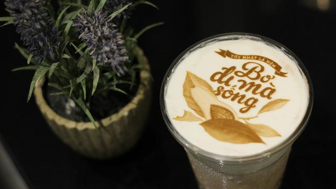 In ảnh lên trà sữa: món mới toanh đầy ảo diệu ở Hà Nội - ảnh 9