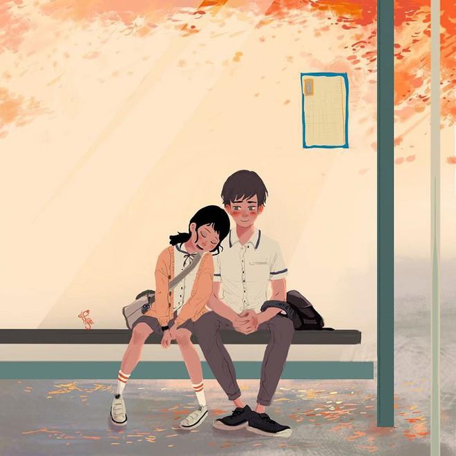 Bộ tranh: Tình yêu là khi chúng ta có thể tìm thấy ai đó đồng điệu để sẻ chia cuộc sống này - Ảnh 13.